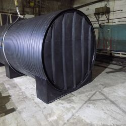 Пластиковый резервуар из полиэтилена для хранения кислоты