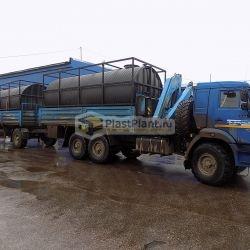 Пластиковые резервуары для хранения и перевозки жидкостей