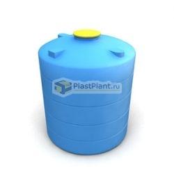 Вертикальная цилиндрическая емкость для воды серийного производства