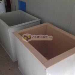 Пластиковые гальванические ванны