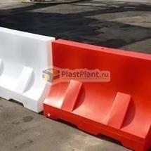 Пластиковые дорожные блоки