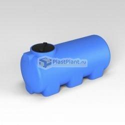 Горизонтальная цилиндрическая емкость для воды серийного производства