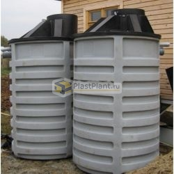 Пластиковые емкости для канализации из полиэтилена
