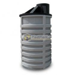 Бочка из пластика для канализации 2500 литров