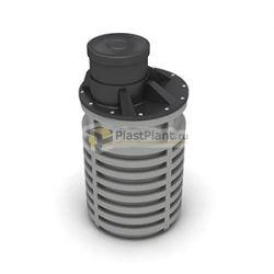 Пластиковая бочка для канализации 2500 литров