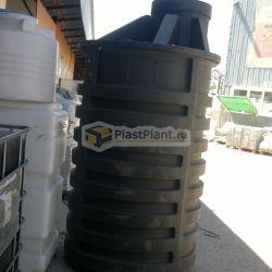 Пластиковая бесшовная бочка для канализации 2500 литров