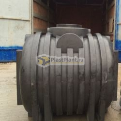 Пластиковый цилиндрический бак для канализации