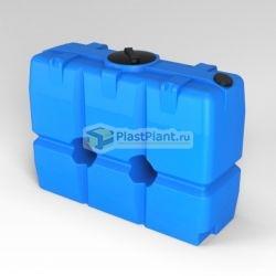 Прямоугольная пластиковая емкость для пищевых веществ