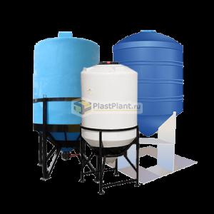 Пластиковые бункеры и силосы