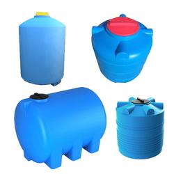 Пластиковые емкости цилиндрической формы