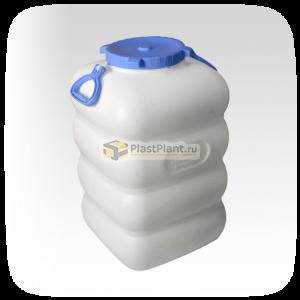 Пластиковый бидон 80 литров