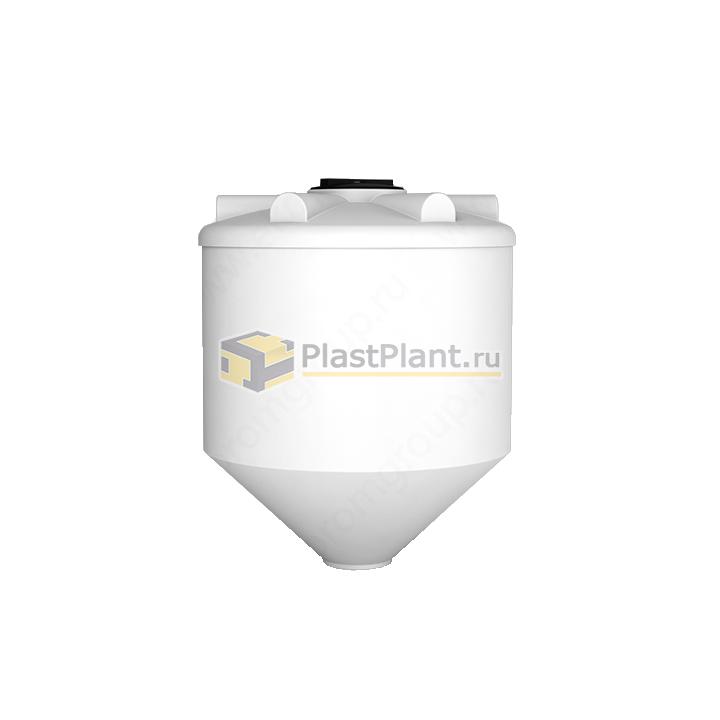 Пластиковая коническая емкость 1000 литров серии ФМ - купить в компании ПластПлэнт