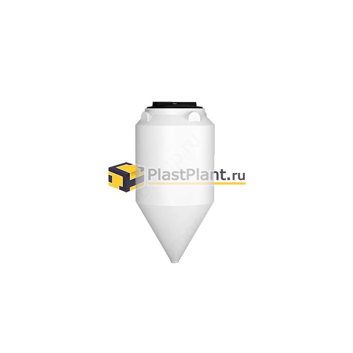 Пластиковая коническая емкость 120 литров серии ФМ - купить в компании ПластПлэнт