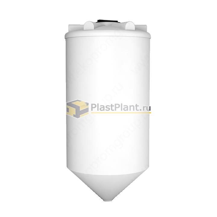 Пластиковая коническая емкость 2000 литров серии ФМ - купить в компании ПластПлэнт