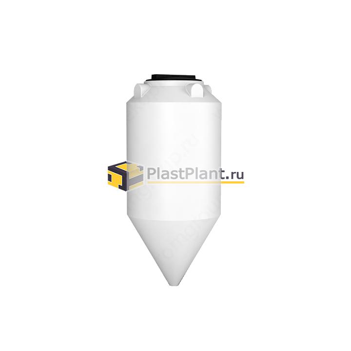 Пластиковая коническая емкость 240 литров серии ФМ - купить в компании ПластПлэнт