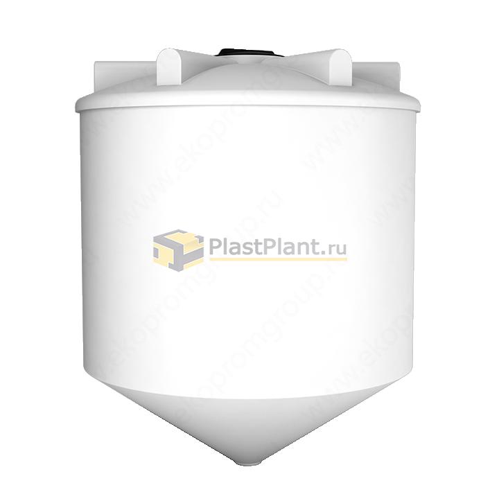 Пластиковая коническая емкость 5000 литров серии ФМ - купить в компании ПластПлэнт