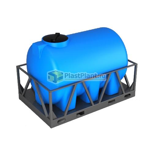 Емкость 3000 литров категории H в обрешетке - купить в ПластПлэнт