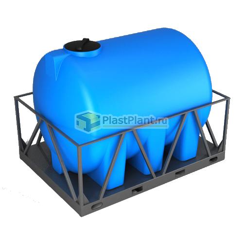 Емкость 5000 литров категории H в обрешетке - купить в ПластПлэнт