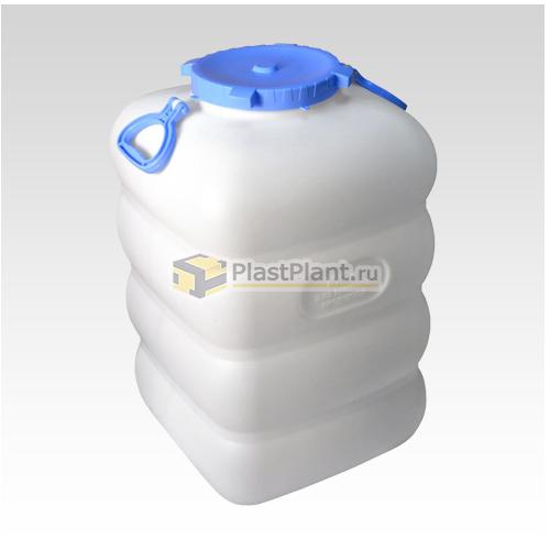 Пластиковый бидон 100 литров (фляга) купить в компании ПластПлэнт