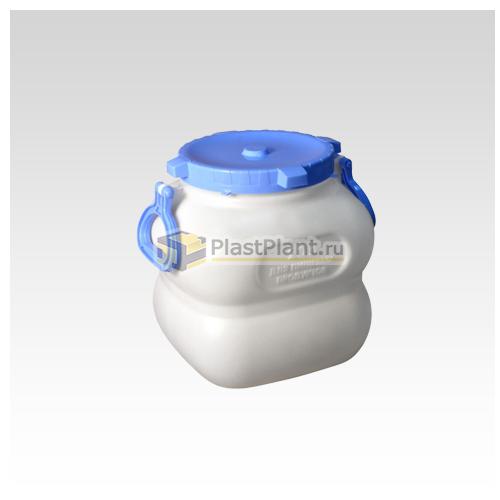 Пластиковый бидон 20 литров (фляга) купить в компании ПластПлэнт