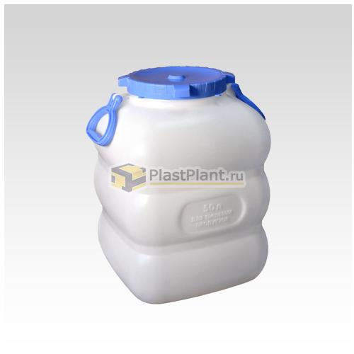 Пластиковый бидон 50 литров (фляга) купить в компании ПластПлэнт