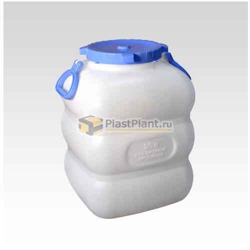 Пластиковый бидон 60 литров (фляга) купить в компании ПластПлэнт
