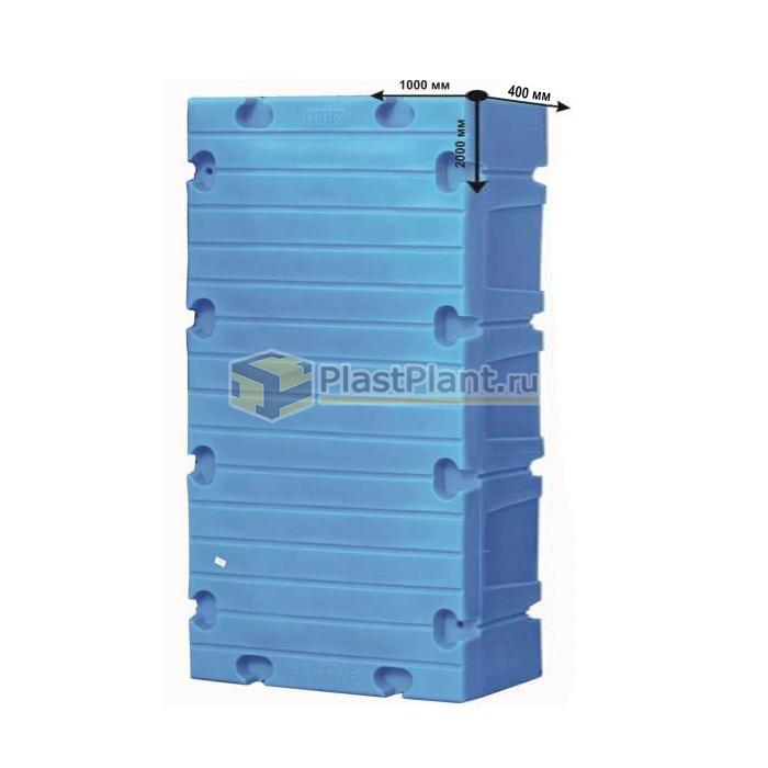 Пластиковый модульный понтон большой - купить в компании ПластПлэнт