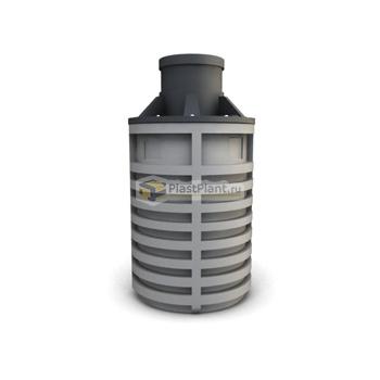 Пластиковый септик 2500 литров (2.5 куба) - купить в ПластПлэнт