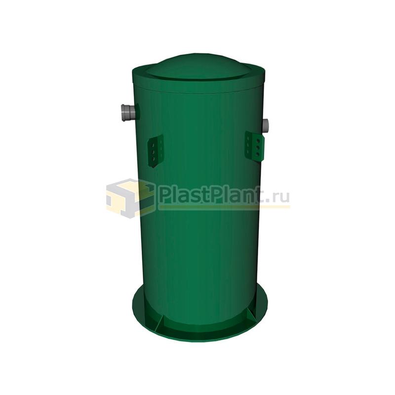 Пластиковая подземная емкость Tank 1 на 1 куб