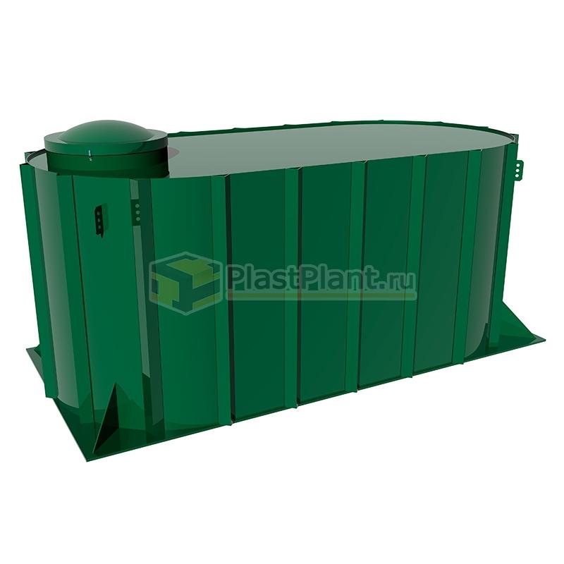 Пластиковая подземная емкость Tank 24 на 24 куба