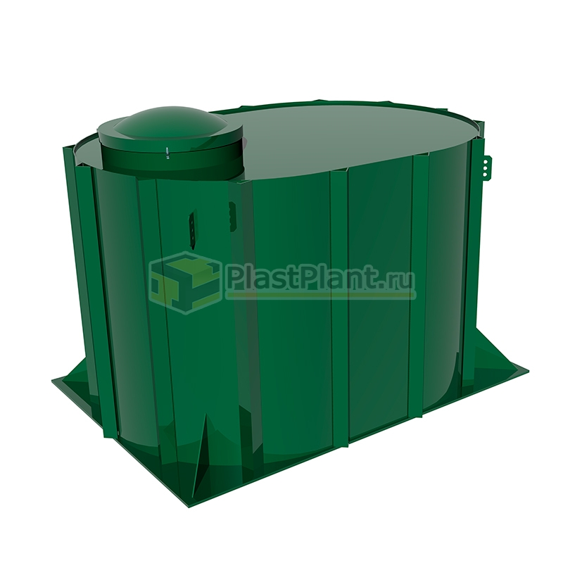 Пластиковая подземная емкость Tank 3 на 3 куба