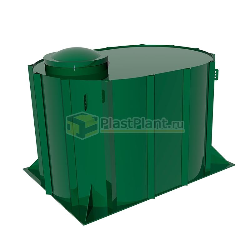 Пластиковая подземная емкость Tank 4 на 4 куба