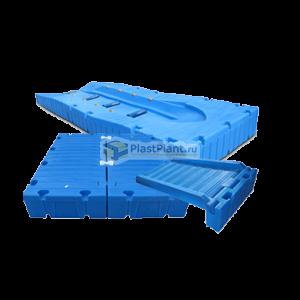 Пластиковые понтоны