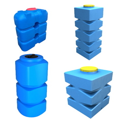 Пластиковые емкости и баки прямоугольной формы