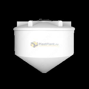 Пластиковая коническая емкость 3000 литров серии ФМ - купить в компании ПластПлэнт